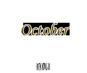 再入荷10月